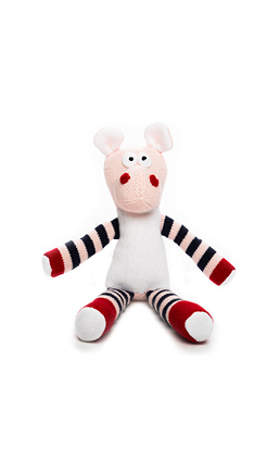 PINK COW SOFT TOY