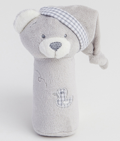 Grey Bear Squeezy Toy 7013SQ