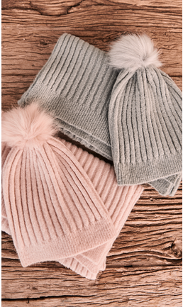 SNOOD SCARF AND BEANIE