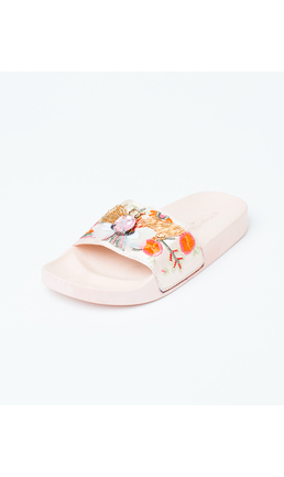 PINK GEM SLIDE BUTTERFLY