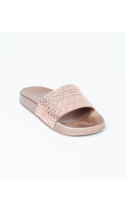 AMALFI - ROSE GOLD SANDAL