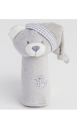 Grey Bear Squeezy Toy